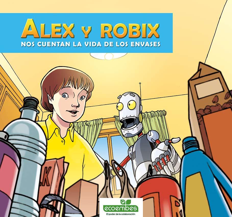 Alex y Robix. Nos cuentan la vida de los envases