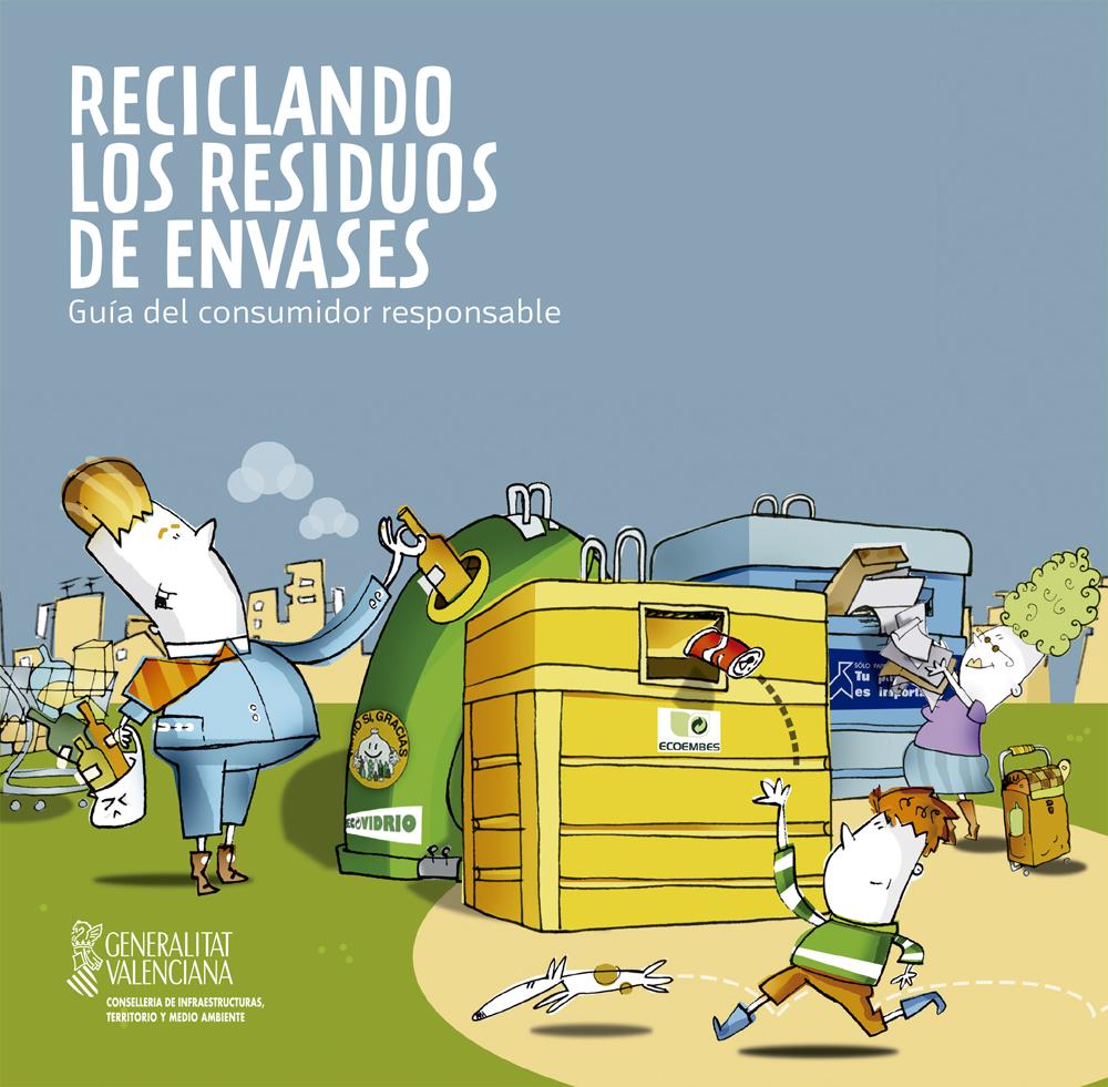 Reciclando los Residuos de Envases – Guía del Consumidor
