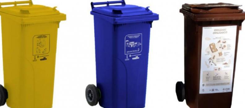 Los casales falleros de València dispondrán de 770 cubos-papeleras para reciclaje