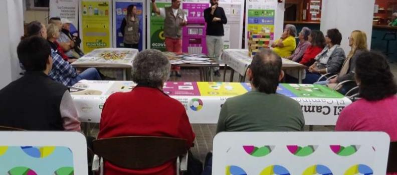 La Asociación Valenciana de Personas Sordas participa en la campaña de educación ambiental 'Recicla con los Cinco Sentidos'