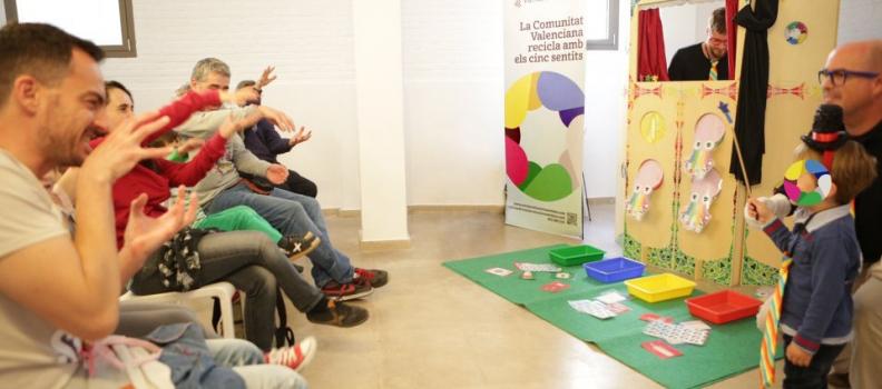 El Festival VESOS de València, un gran espai ciutadà de participació per a Reciclar amb els Cinc Sentits