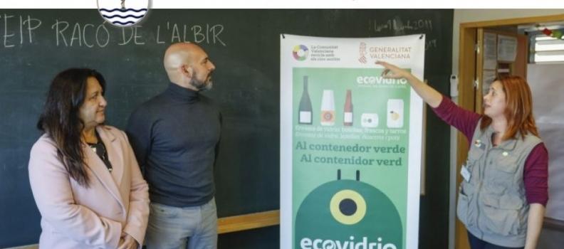 La campaña Recicla con los Cinco sentidos llega a los colegios de l'Alfàs