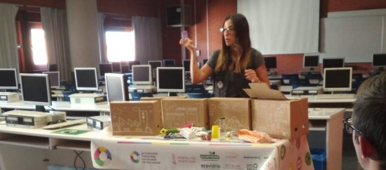 Las Universidades valencianas Reciclan Con los Cinco sentidos