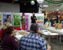 LA ASOCIACIÓN VALENCIANA DE PERSONAS SORDAS RECICLA CON LOS CINCO SENTIDOS