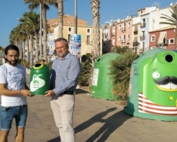 La Vila Joiosa comença la batalla per obtenir el reconeixement ambiental d'Ecovidrio