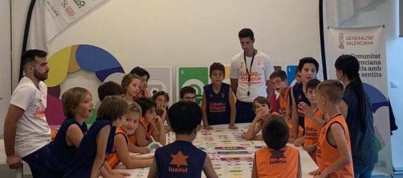 L'Alqueria del Basket participa en la campaña de educación ambiental Recicla con los Cinco Sentidos