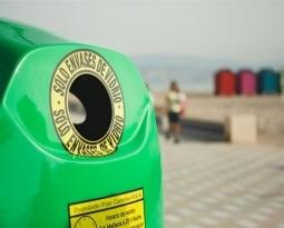 Benidorm triplica la media de la Comunitat en reciclar vidrio por habitante