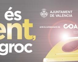 A València, si és lluent, va al groc