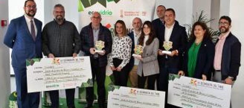 San Vicente, El Campello y Altea, premiados por reciclar